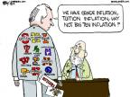 Cartoonist Chip Bok  Chip Bok's Editorial Cartoons 2012-11-23 inflation