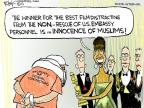 Cartoonist Chip Bok  Chip Bok's Editorial Cartoons 2013-02-25 winner