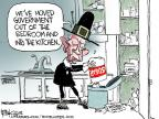 Cartoonist Chip Bok  Chip Bok's Editorial Cartoons 2013-03-15 governmental