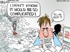 Cartoonist Chip Bok  Chip Bok's Editorial Cartoons 2013-04-12 know