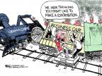 Cartoonist Chip Bok  Chip Bok's Editorial Cartoons 2013-05-20 health care reform