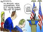 Cartoonist Chip Bok  Chip Bok's Editorial Cartoons 2013-05-25 press freedom
