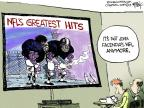 Cartoonist Chip Bok  Chip Bok's Editorial Cartoons 2013-07-03 football player