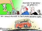 Cartoonist Chip Bok  Chip Bok's Editorial Cartoons 2013-08-06 baseball