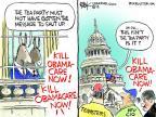 Cartoonist Chip Bok  Chip Bok's Editorial Cartoons 2013-09-30 shut