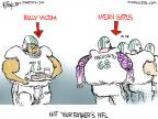 Cartoonist Chip Bok  Chip Bok's Editorial Cartoons 2013-11-05 team sport