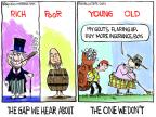 Cartoonist Chip Bok  Chip Bok's Editorial Cartoons 2013-11-18 age difference
