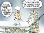 Cartoonist Chip Bok  Chip Bok's Editorial Cartoons 2013-12-19 television