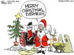 Cartoonist Chip Bok  Chip Bok's Editorial Cartoons 2013-12-24 environmental protection