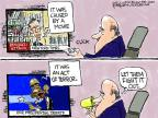 Cartoonist Chip Bok  Chip Bok's Editorial Cartoons 2014-01-11 2012 debate