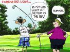 Cartoonist Chip Bok  Chip Bok's Editorial Cartoons 2014-01-21 NFL
