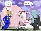 Cartoonist Chip Bok  Chip Bok's Editorial Cartoons 2014-01-30 bipartisan