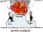 Chip Bok  Chip Bok's Editorial Cartoons 2014-02-19 2014 Olympics