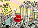 Cartoonist Chip Bok  Chip Bok's Editorial Cartoons 2014-03-22 die