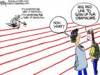 Cartoonist Chip Bok  Chip Bok's Editorial Cartoons 2014-03-26 insurance policy