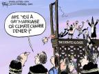 Cartoonist Chip Bok  Chip Bok's Editorial Cartoons 2014-04-14 global warming