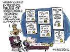 Cartoonist Chip Bok  Chip Bok's Editorial Cartoons 2014-04-16 walk