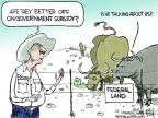 Cartoonist Chip Bok  Chip Bok's Editorial Cartoons 2014-04-24 livestock