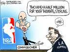 Cartoonist Chip Bok  Chip Bok's Editorial Cartoons 2014-04-30 team sport