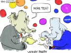 Cartoonist Chip Bok  Chip Bok's Editorial Cartoons 2014-05-22 victory