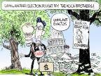 Cartoonist Chip Bok  Chip Bok's Editorial Cartoons 2014-06-12 victory
