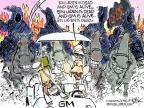 Cartoonist Chip Bok  Chip Bok's Editorial Cartoons 2014-06-13 international war
