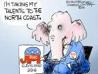Cartoonist Chip Bok  Chip Bok's Editorial Cartoons 2014-07-09 election