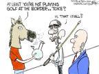 Cartoonist Chip Bok  Chip Bok's Editorial Cartoons 2014-07-10 golf