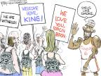 Cartoonist Chip Bok  Chip Bok's Editorial Cartoons 2014-07-15 team sport