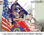 Cartoonist Chip Bok  Chip Bok's Editorial Cartoons 2014-10-02 secret service