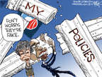 Cartoonist Chip Bok  Chip Bok's Editorial Cartoons 2014-11-05 election
