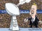 Cartoonist Chip Bok  Chip Bok's Editorial Cartoons 2015-01-29 championship
