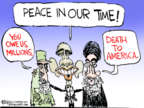 Cartoonist Chip Bok  Chip Bok's Editorial Cartoons 2015-08-19 Iran nuclear