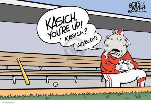Kasich, youre up! Kasich! Anybody? � Stop Trump.