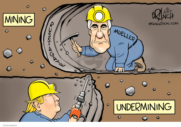 Mining. Mueller. Russiagate. Undermining.