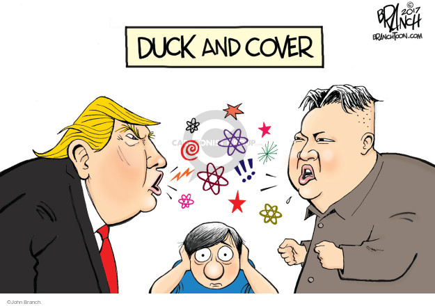 Duck and Cover.
