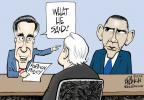 Cartoonist John Branch  John Branch's Editorial Cartoons 2012-10-24 2012 election