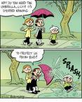 Cartoonist Jay Stephens Bob Weber, Jr.  Oh, Brother! 2011-04-01 storm