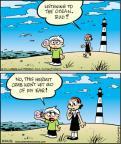 Cartoonist Jay Stephens Bob Weber, Jr.  Oh, Brother! 2011-05-10 beach