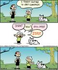 Comic Strip Jay Stephens Bob Weber, Jr.  Oh, Brother! 2011-05-23 dog obedience
