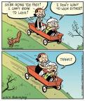 Cartoonist Jay Stephens Bob Weber, Jr.  Oh, Brother! 2011-06-02 speed