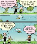 Cartoonist Jay Stephens Bob Weber, Jr.  Oh, Brother! 2011-06-30 would