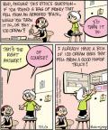 Comic Strip Jay Stephens Bob Weber, Jr.  Oh, Brother! 2011-07-01 ice cream