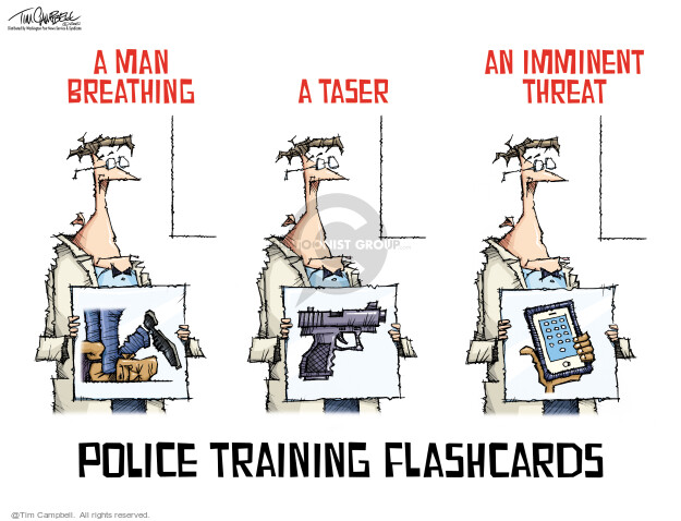 Tim Campbell  Tom Campbell Editorial Cartoons 2021-04-27 gun