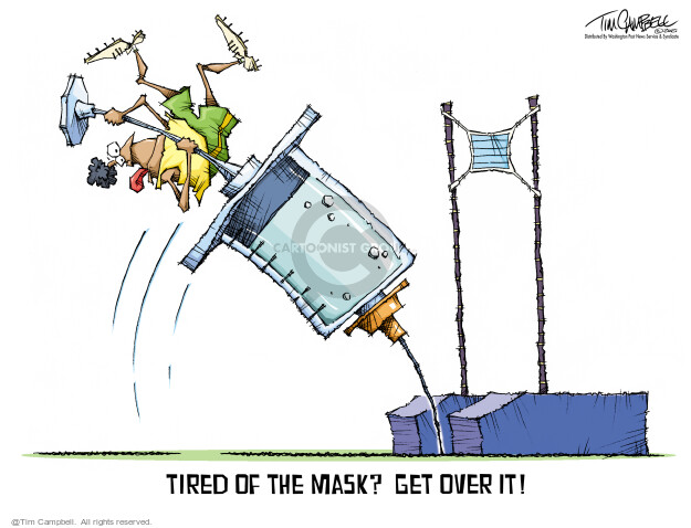 Tim Campbell  Tom Campbell Editorial Cartoons 2021-03-09 COVID vaccine