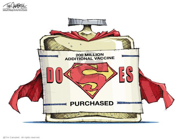 Tim Campbell  Tom Campbell Editorial Cartoons 2021-02-01 COVID vaccine