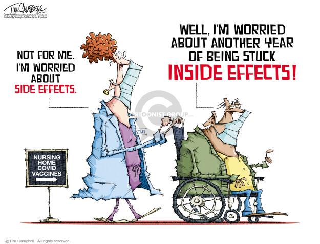 Tim Campbell  Tom Campbell Editorial Cartoons 2021-02-08 COVID vaccine
