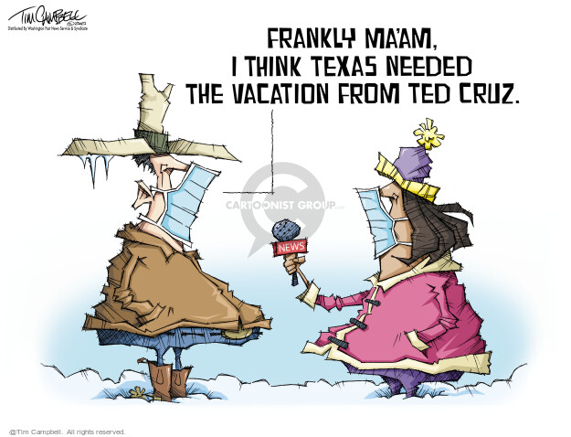 Tim Campbell  Tom Campbell Editorial Cartoons 2021-02-19 think