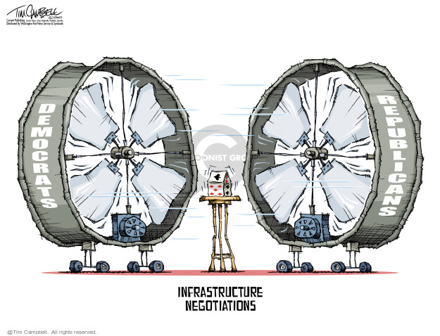 Tim Campbell  Tom Campbell Editorial Cartoons 2021-06-21 infrastructure