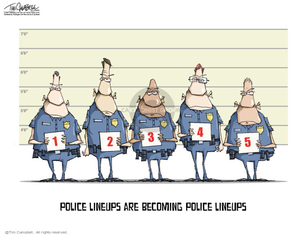 Tim Campbell  Tom Campbell Editorial Cartoons 2020-06-22 police brutality
